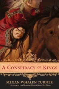 Book cover for A Conspiracy of Kings by Megan Whalen Turner