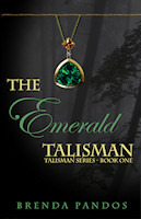 book cover of The Emerald Talisman by Brenda Pandos