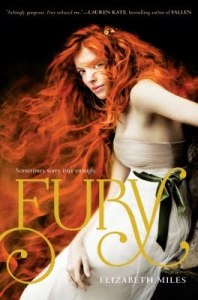 book cover of Fury by Elizabeth Miles