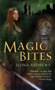 Book cover of Magic Bites by Ilona Andrews