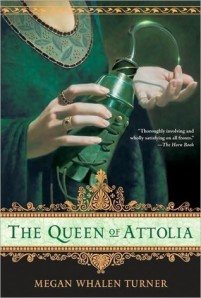 Book cover of The Queen of Attolia by Megan Whalen Turner