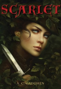book cover of Scarlet by A.C. Gaughen