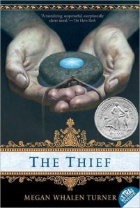 Book cover of The Thief by Megan Whalen Turner