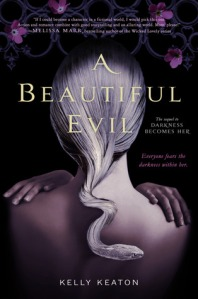 Book cover of A Beautiful Evil by Kelly Keaton