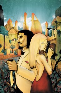 issue cover from Cinderella: From Fabletown With Love art by Chrissie Zullo