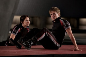 Katniss and Peeta from The Hunger Games by Lionsgate