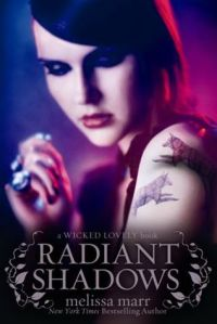Book cover of Radiant Shadows by Melissa Marr