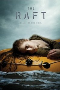 Book cover of The Raft by S.A. Bodeen