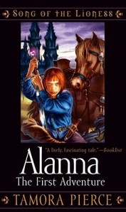 Book cover of Alanna: The First Adventure by Tamora Pierce