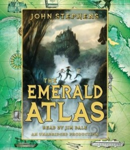 Audiobook cover of The Emerald Atlas by John Stephens