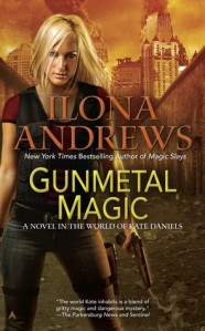 Book cover of Gunmetal Magic by Ilona Andrews