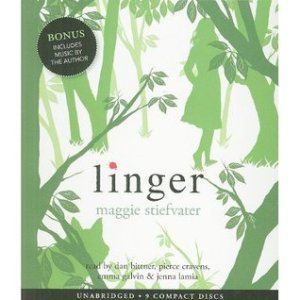 Audiobook cover of Linger by Maggie Stiefvater