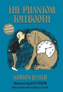 Book cover of The Phantom Tollbooth by Norton Juster