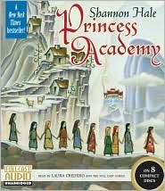 Audiobook cover of Princess Academy of Shanon Hale