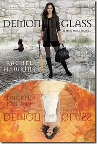 book cover of Demonglass by Rachel Hawkins