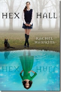 book cover of Hex Hall by Rachel Hawkins