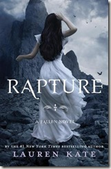 book cover of Rapture by Lauren Kate