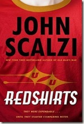 book cover of Redshirts by John Scalzi