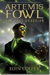 Artemis Fowl The Last Guardian by Eoin Colfer book cover