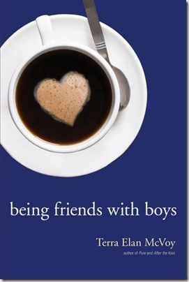 book cover of Being Friends With Boys by Tera Elan McVoy