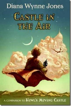 book cover of Castle in the Air by Diana Wynne Jones