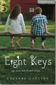 book cover of Eight Keys by Suzanne LaFleur