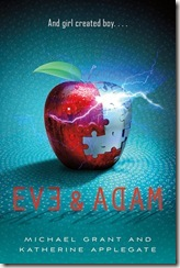 book cover of Eve and Adam by Michaeol Grant and Katherine Applegate