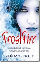Frostfire by Zoe Marriott book cover