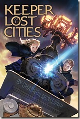 book cover of Keeper of the Lost Cities by Shannon Messenger