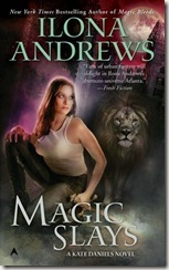 book cover of Magic Slays by Ilona Andrews