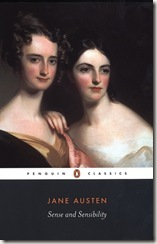 book cover of Sense and Sensibility by Jane Austen