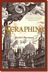 Seraphina by Rachel Hartman book cover