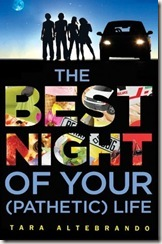 The Best Night of Your (Pathetic) Life by Tara Altebrando book cover
