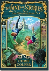 The Land of Stories: The Wishing Spell by Chris Colfer book cover