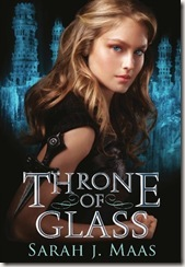 book cover of Throne of Glass by Sarah J. Maas
