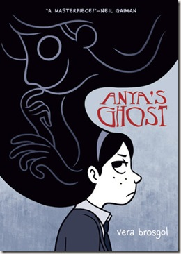 Anya's Ghost by Vera Brosgol book cover