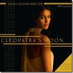 Cleopatra's Moon by Vicky Alvear Shecter audio book cover