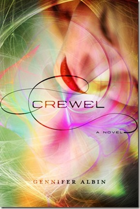 Crewel by Gennifer Albin book cover