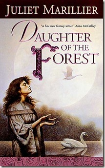Daughter of the Forest by Juliet Marillier book cover