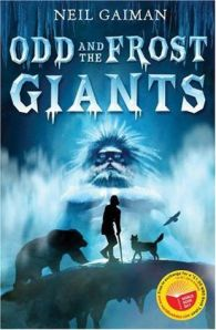 Odd and the Frost Giants by Neil Gaiman book cover