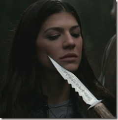 Ruby and the bowie knife from Supernatural.