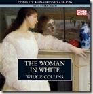 The Woman in White by Wilkie Collins audio book cover