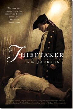 Thieftaker by D.B. Jackson book cover