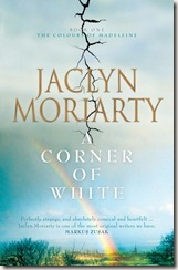 A Corner of White by Jacklyn Moriarty book cover