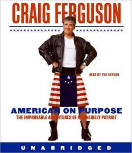 American on Purpose by Craig Ferguson audio book cover