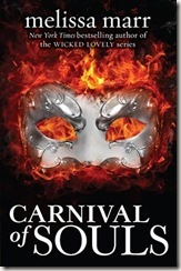 Carnival of Souls by Melissa Marr book cover