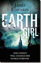 Earth Girl by Janet Edwards book cover
