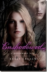Enshadowed by Kelly Creagh book cover