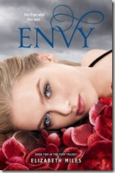Envy by Elizabeth Miles book cover