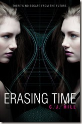 Erasing Time by C.J. Hill book cover